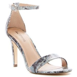 ** New CALL IT SPRING 'Ahlberg' STILETTO Sandals